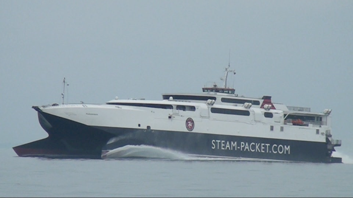 High Speed Ferry takes bikers to the Isle of Man
