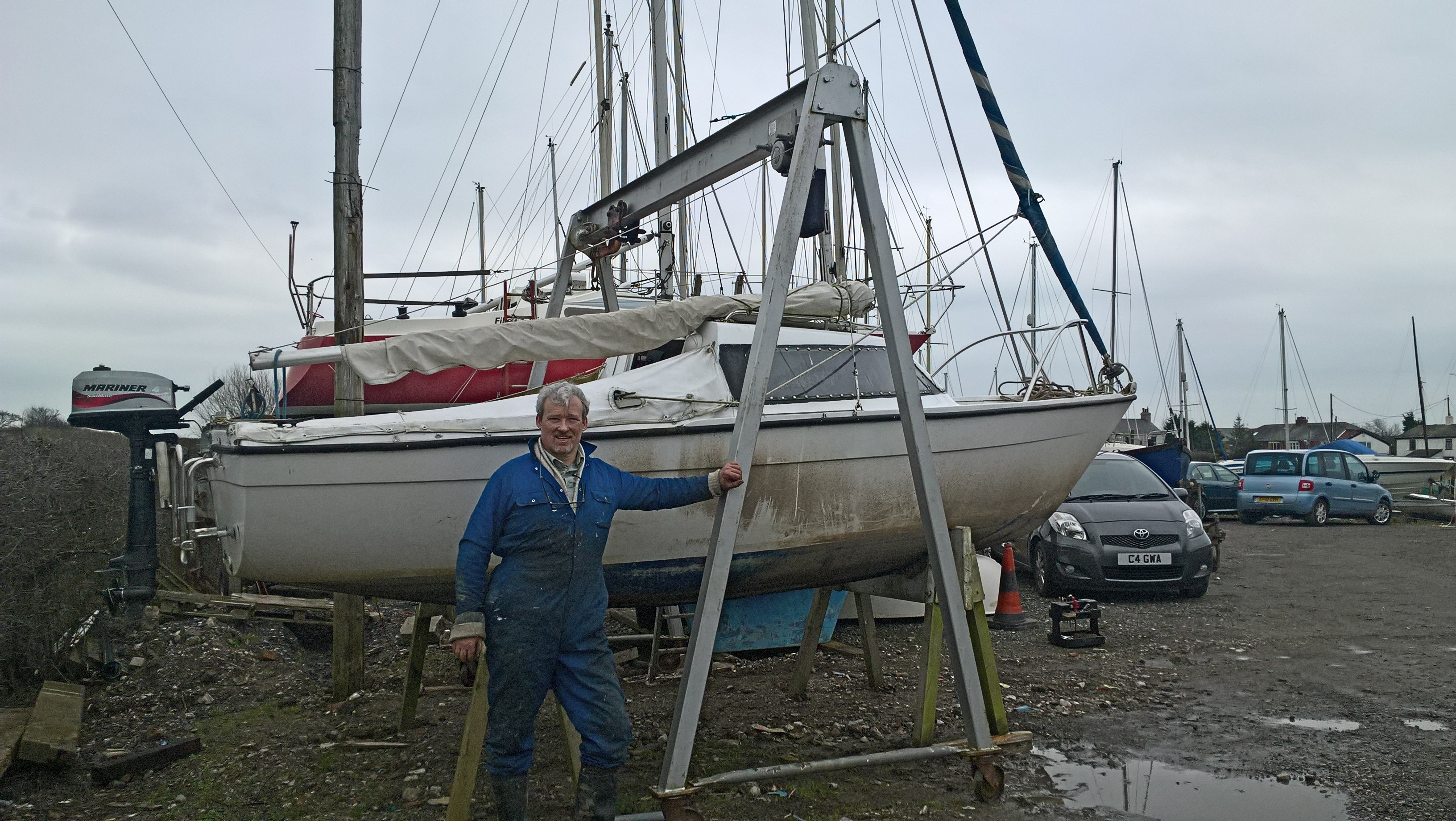 Dirty boat 2016