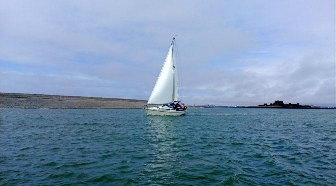 First sail Wardleys to Piel Island April 2018