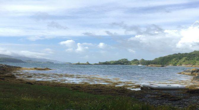 Wardley's boat sails to scotland single handed part 1